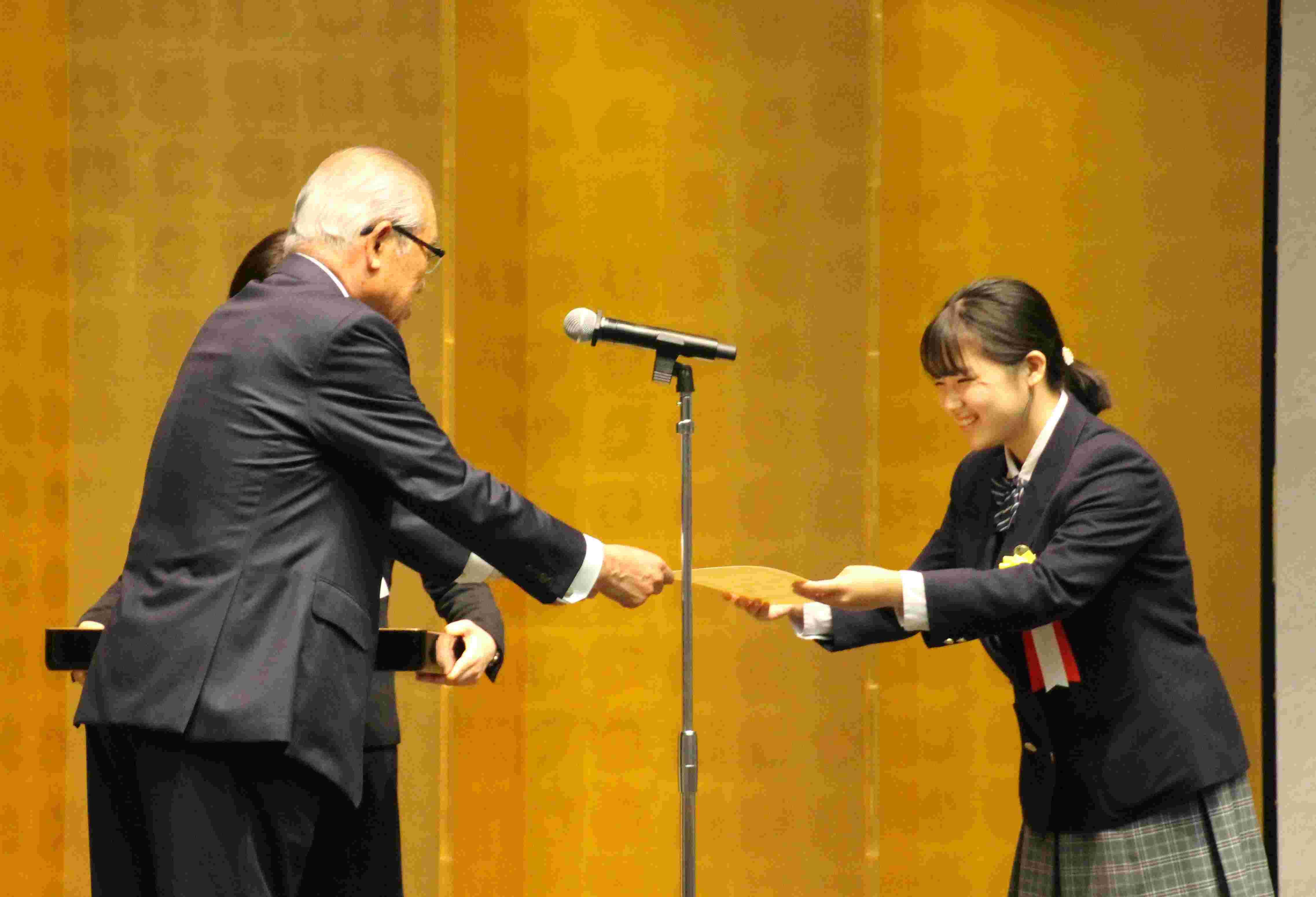 「第10回小さな助け合いの物語賞」で藤野涼子賞を受賞