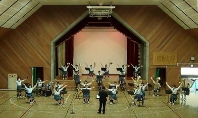 吹奏楽部 校内演奏会を行いました