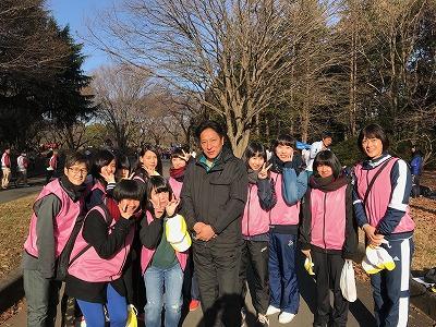 立川シティハーフマラソン2018にボランティアとして参加