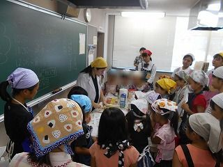 クッキング部 夏季料理教室