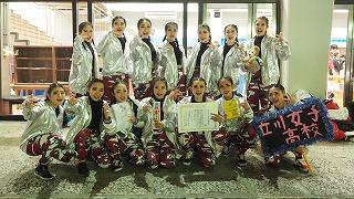 ダンス部 「日本高校ダンス部選手権新人戦」で特別賞受賞