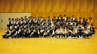 ダンス部 日大明誠高校ダンス・チア部と合同練習