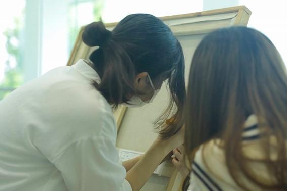 美術部 立川アートギャラリー 美術部展 開催中